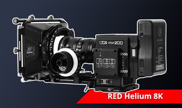 RED 8K Helium Camera